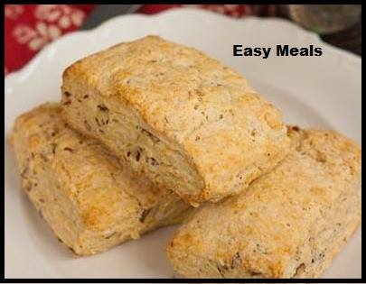 Pecan Sour Cream Biscuits – Easy Meals for All